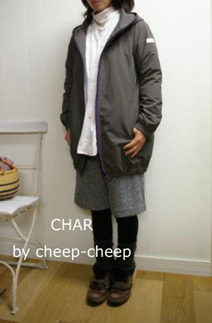 今日の CHAR* スタイル  _a0162603_1919812.jpg