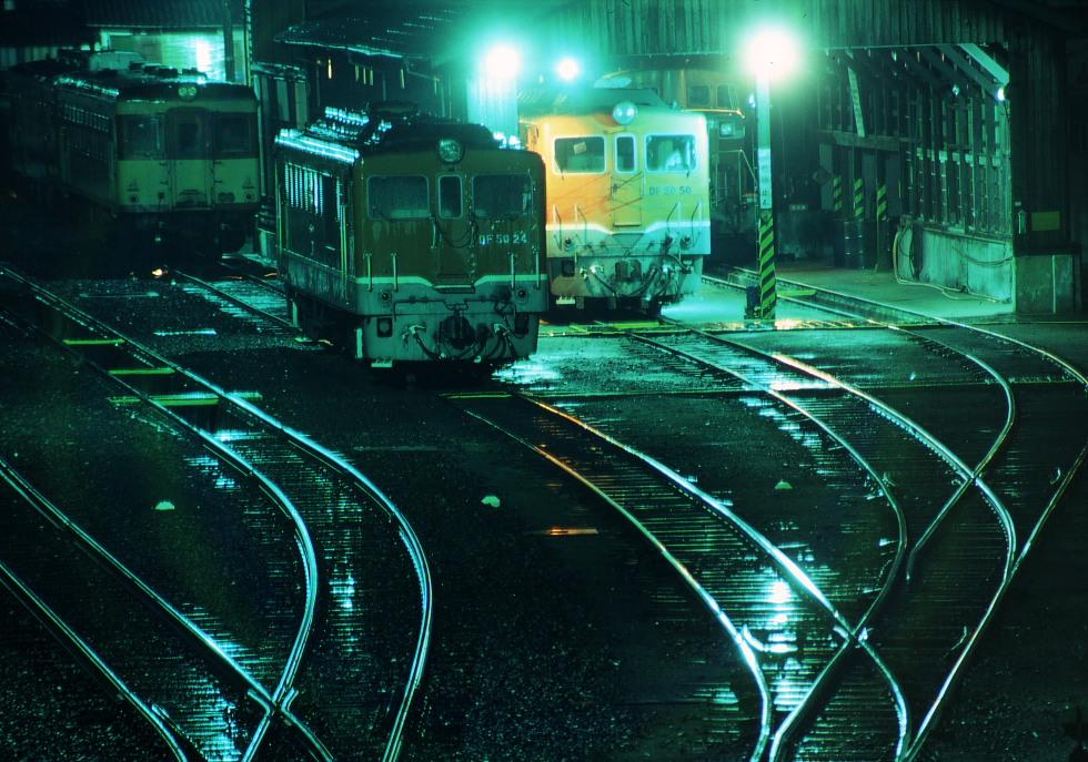雨の夜 - 1982年12月・多度津 -_b0190710_2357855.jpg