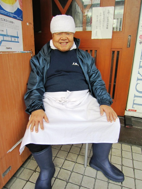 出張報告 & 元祖つけ麺屋_f0191324_0425750.jpg