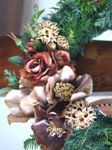 クリスマス・リース_a0118355_14394446.jpg