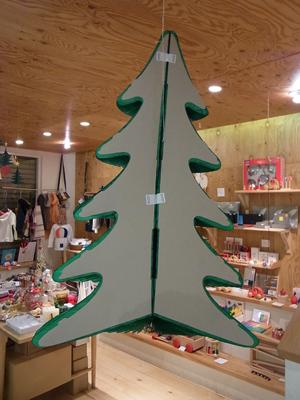 デンマークのハニカムペーパー製クリスマスツリー、各種入荷!_a0121669_072443.jpg