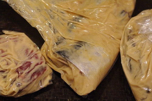 奈良漬けの残った粕(二番粕)で、魚を粕漬けに。_c0110869_2144165.jpg