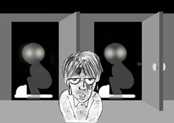 「遠野妖怪談(恐怖、みていけの便所)」_f0075075_13194254.jpg