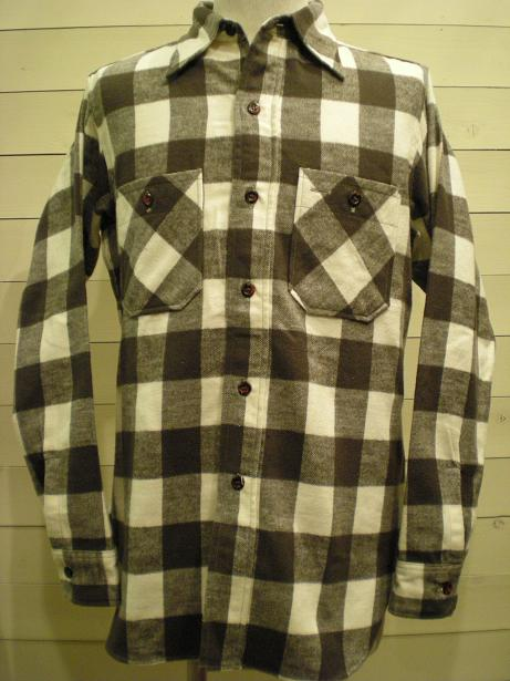 1930\'s Cotton Flannel Shirts mable button_d0160378_16424962.jpg