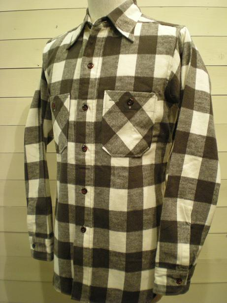 1930\'s Cotton Flannel Shirts mable button_d0160378_16431257.jpg
