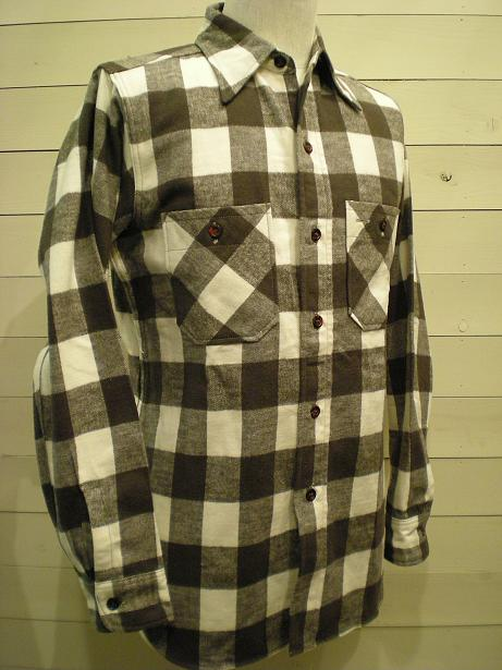 1930\'s Cotton Flannel Shirts mable button_d0160378_16432990.jpg
