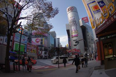 12月2日(木)今日の渋谷109前交差点_b0056983_1111590.jpg