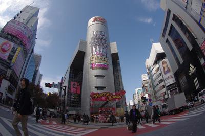 12月2日(木)今日の渋谷109前交差点_b0056983_11141470.jpg