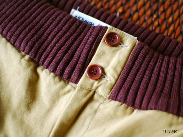 15[jyugo] black satin rib pants バックサテン リブパンツ ワイドパンツ[033-CN] LADY\'S _f0051306_18112898.jpg