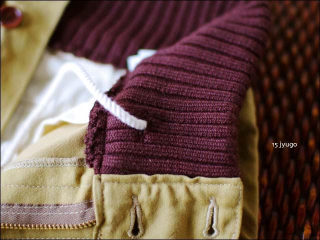 15[jyugo] back satin rib pants バックサテン リブパンツ [033-CN] MEN\'S _f0051306_18201877.jpg