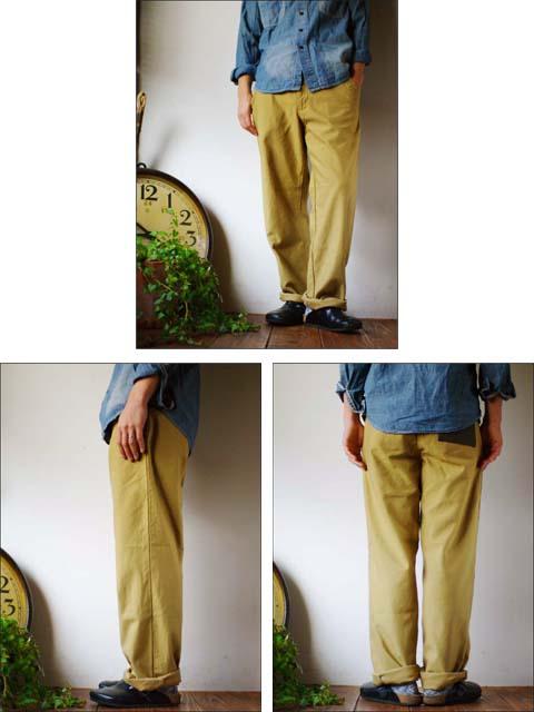 15[jyugo] back satin rib pants バックサテン リブパンツ [033-CN] MEN\'S _f0051306_1820203.jpg
