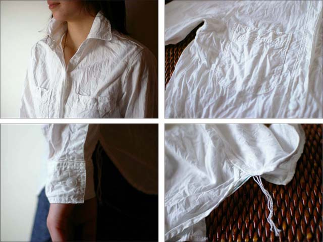 orslow [オアスロウ] chambray shirts [シャンブレーシャツ] Lady\'s WHITE ホワイト 白_f0051306_2050477.jpg