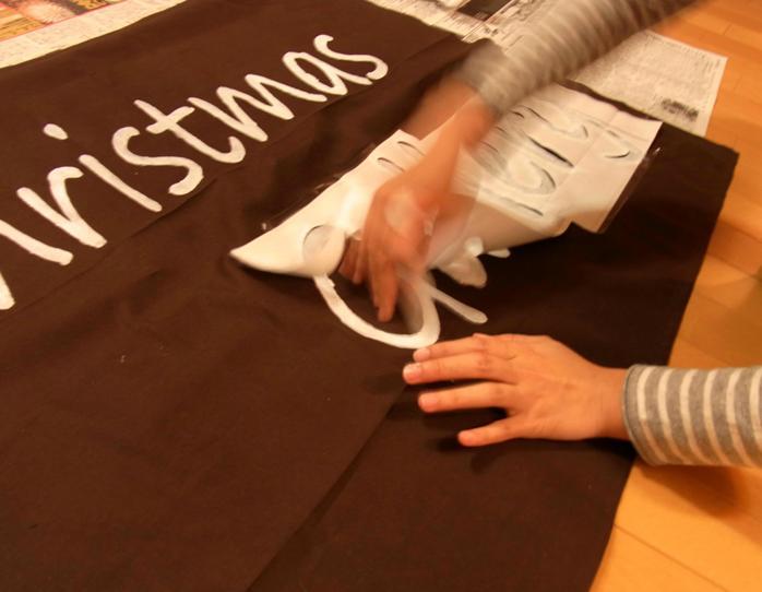 Christmas Gallery signboard_a0152283_2062086.jpg