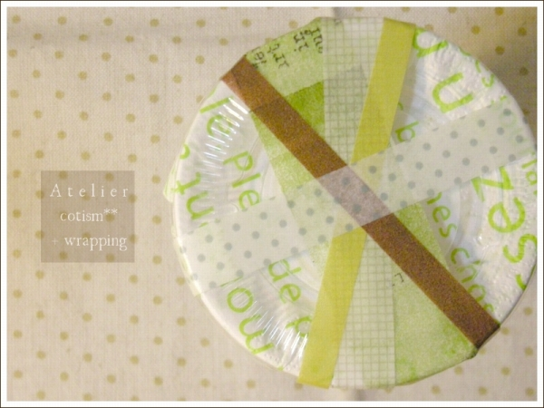 wrapping  ** 茶葉 **_b0155684_344255.jpg