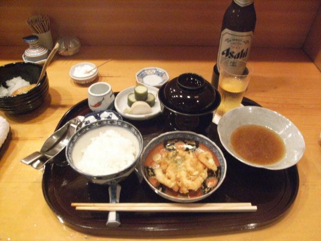 天ぷらランチ_e0116211_9452070.jpg