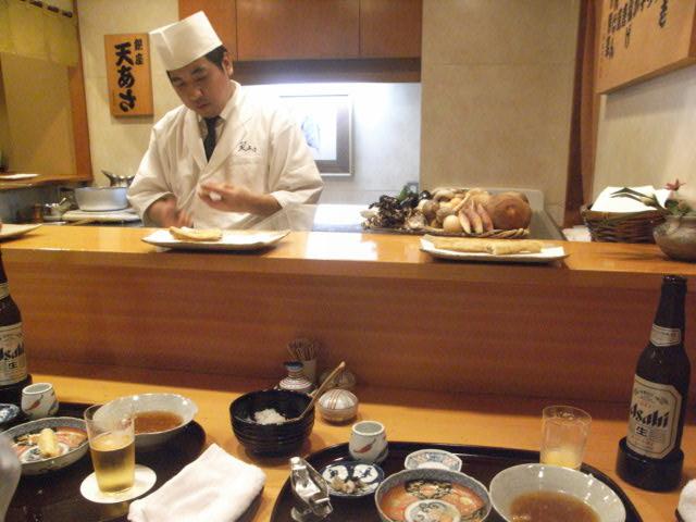 天ぷらランチ_e0116211_947969.jpg