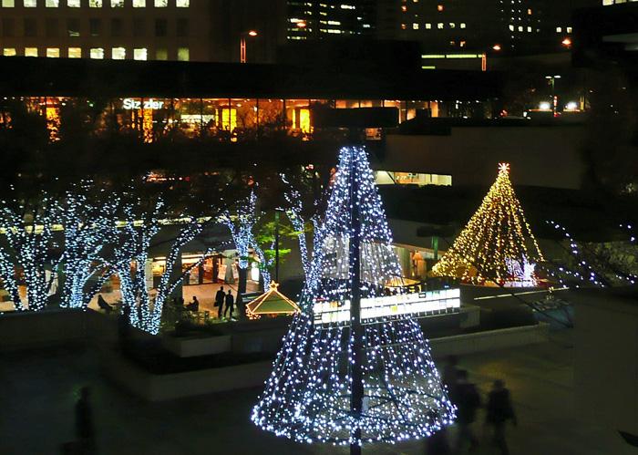 西新宿のイルミネーション_c0192843_21492340.jpg