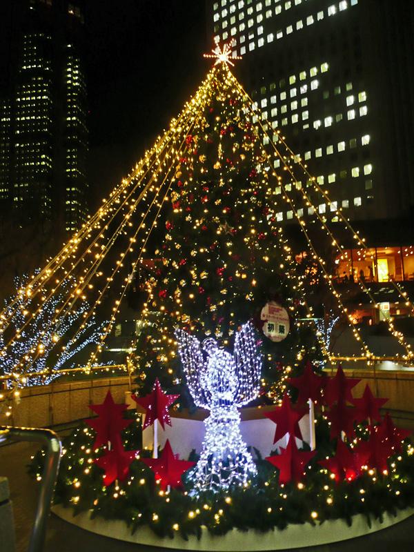 西新宿のイルミネーション_c0192843_21493952.jpg