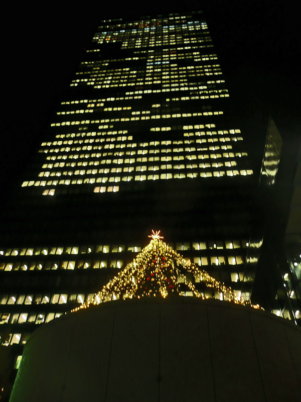 西新宿のイルミネーション_c0192843_21495445.jpg