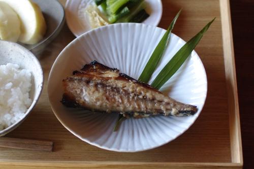 奈良漬けの残った粕(二番粕)で、魚を粕漬けに。_c0110869_20141372.jpg