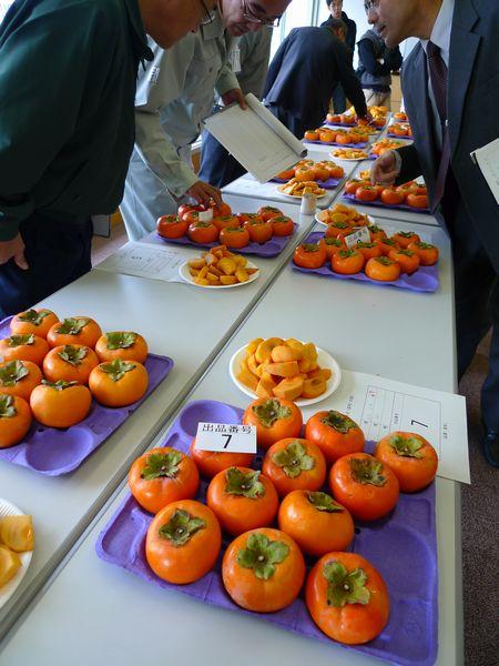 滋賀県の柿品評会_d0108737_1044715.jpg