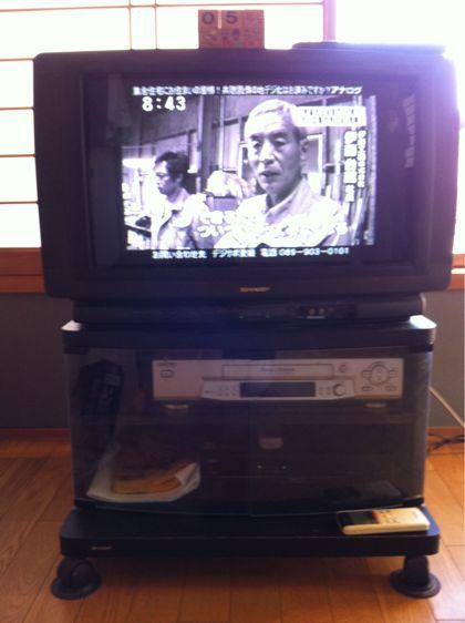 白黒テレビよ  さよなら_f0099147_8452074.jpg
