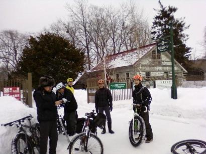 """""""雪道"""" 自転車ツアー 2010'_d0197762_1611034.jpg"""