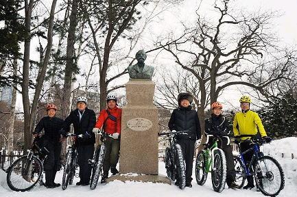 """""""雪道"""" 自転車ツアー 2010'_d0197762_16114460.jpg"""