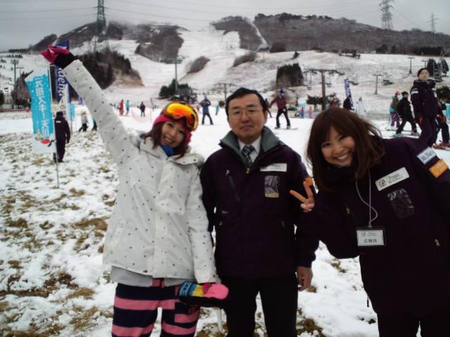 苗場スキー場☆オープニングイベント_c0151965_3304864.jpg