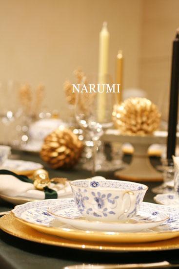 NATALE DI DIECI  クリスマステーブルコーディネート_d0113182_0394682.jpg