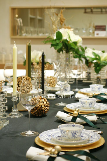 NATALE DI DIECI  クリスマステーブルコーディネート_d0113182_0412738.jpg