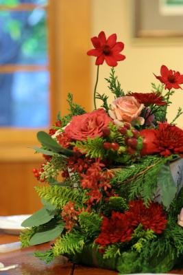 12月、赤い花で飾る一軒家のフレンチ 仏蘭西舎すいぎょく様へ_a0042928_23102983.jpg