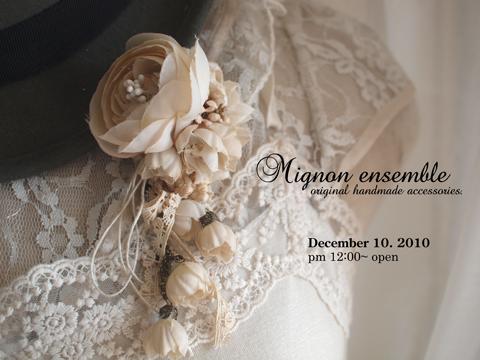 『Mignon ensemble』 今週の出品♪_e0172847_819730.jpg