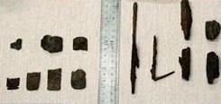 太宰府政庁跡・速報・出土した大量の鉄器を見て来ました・ここは最強の風水地だよ~_c0222861_12502829.jpg