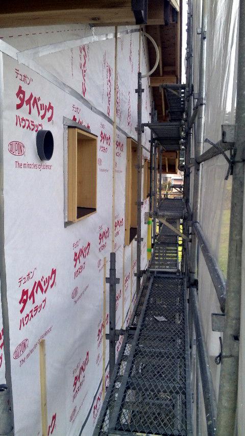 S邸「大沢新道の家」  工事中です。_f0150893_17221631.jpg