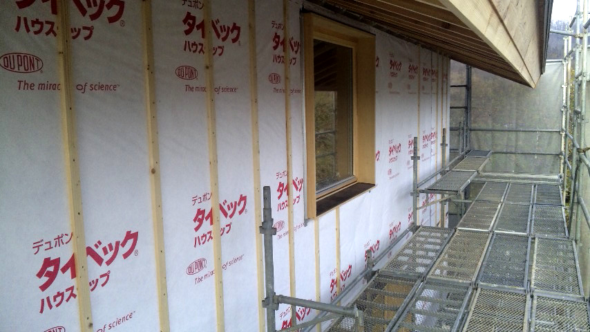 S邸「大沢新道の家」  工事中です。_f0150893_172424.jpg