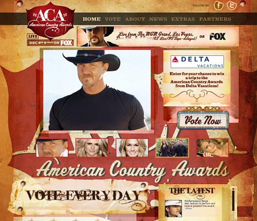 アメリカでカントリー音楽の人気が高まってるかも?第一回American Country Awards開催_b0007805_14185326.jpg