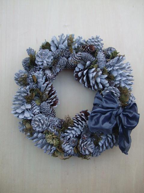 オークリーフ(今年のクリスマスリース)_f0049672_19173284.jpg