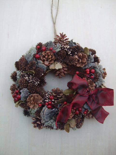 オークリーフ(今年のクリスマスリース)_f0049672_191738.jpg
