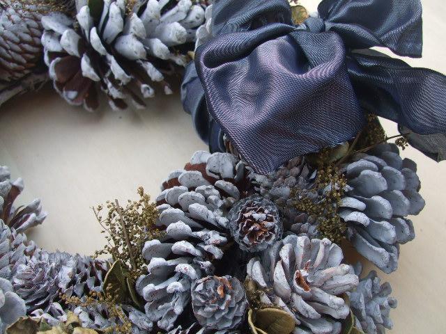 オークリーフ(今年のクリスマスリース)_f0049672_19174017.jpg