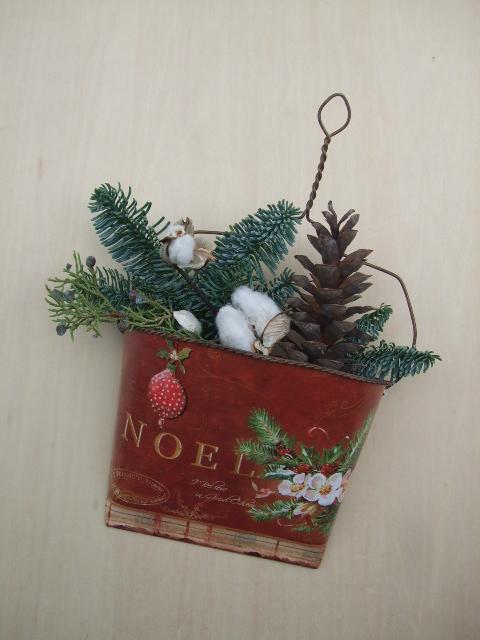 オークリーフ(今年のクリスマスリース)_f0049672_19182515.jpg