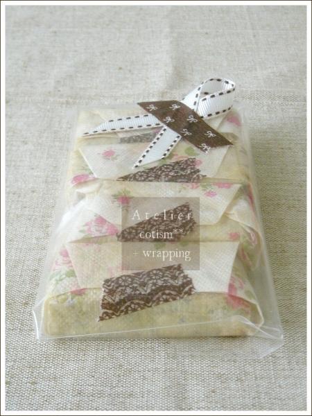 wrapping  ** 紅茶のショートブレッド1 **_b0155684_1753490.jpg