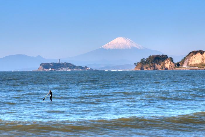 マリーナから見る江ノ島と富士 Vol.2_e0139093_18444245.jpg