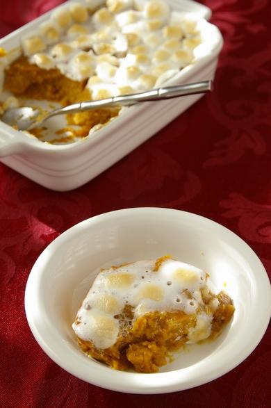 スイートポテト・スフレ Sweet Potato Soufflé/Sweet Potato Casserole_d0166271_8512010.jpg