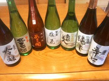 日本酒まつり!_c0108174_1236545.jpg