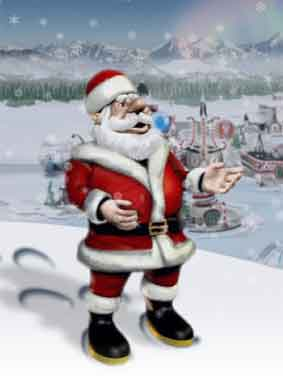『サンタクロース追跡作戦』/ 北米航空宇宙防衛司令部!!_b0003330_23261566.jpg