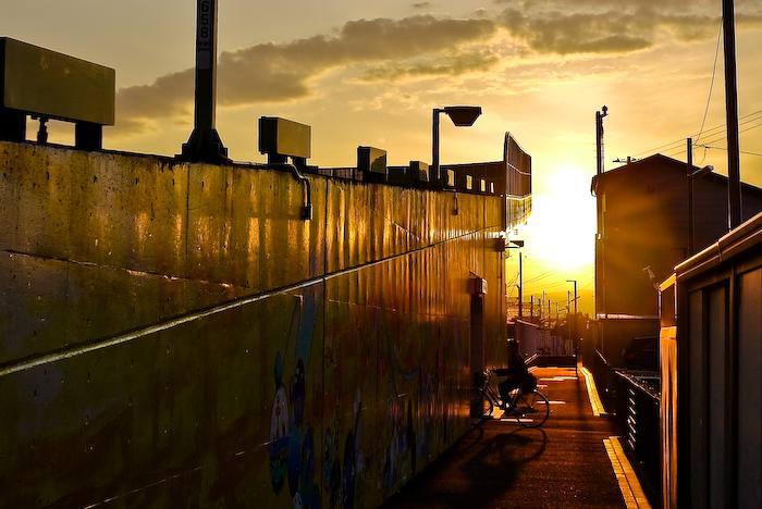 夕陽の時間。。。_e0139093_1655528.jpg