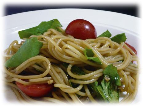 【バルサミコレシピ】 バルサミコの冷製パスタ_f0214716_185231.jpg