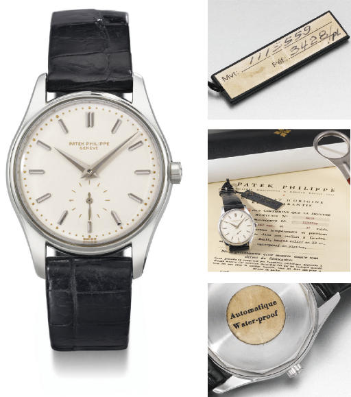 Patek Philippe REF. 3428 with enamel dial, original certificate, sales tag, box and case opener_c0128818_1723123.jpg