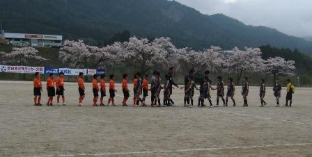 全日本少年サッカー大会予選(付知会場)_d0010630_21142444.jpg